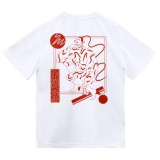 mode girl/red ドライTシャツ