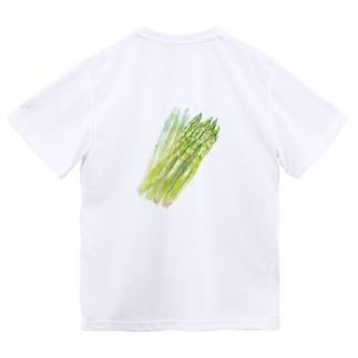 ベジタブルT(アスパラガス) Dry T-shirts