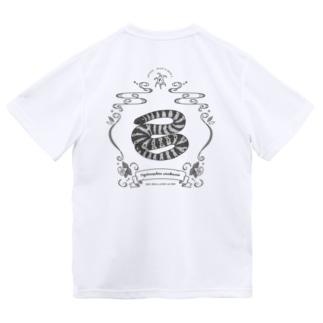 Hydrophis stokesii(ヨウリンウミヘビ)日本初記録記念 Dry T-Shirt