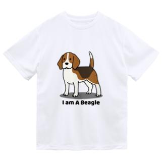 ビーグル1 Dry T-Shirt