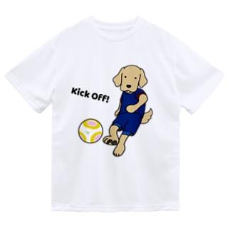 サッカー1(前面) Dry T-Shirt
