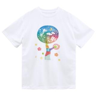 ネコツリー Dry T-Shirt