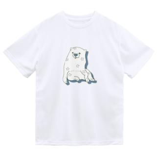あの犬/パチパチ スカイグレー Dry T-Shirt