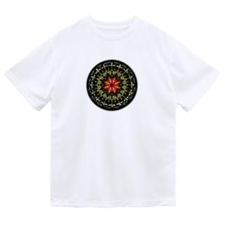宵花火−丸ver. ドライTシャツ