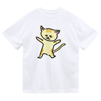 踊るスナネコ Dry T-Shirt
