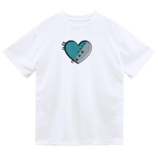 ハート 機械 Dry T-Shirt