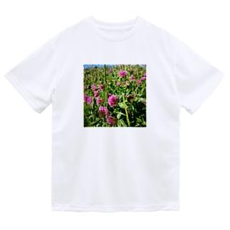 ムラサキツメクサ Dry T-Shirt
