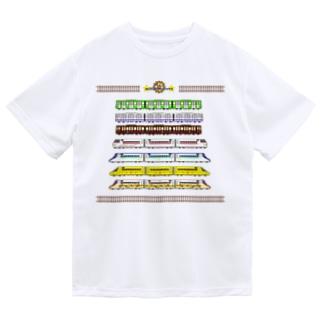 はたらくでんしゃ7(線路付) Dry T-Shirt