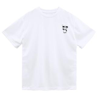 りとぱん 全身 モノクロ Dry T-Shirt