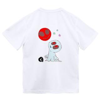 ★数量限定★ まんまるオバケちゃんとにっこりお月様 Dry T-shirts