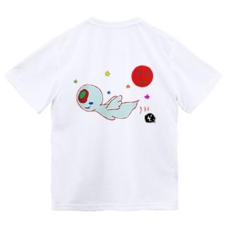 ★数量限定★ まんまるオバケちゃんのふわふわ空中散歩 Dry T-shirts