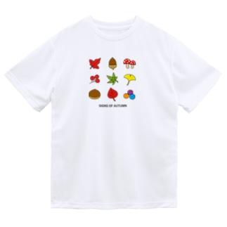 秋のイメージ2 ドライTシャツ
