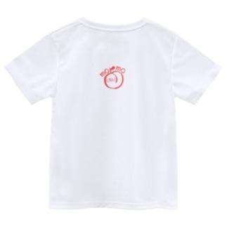 ももおちり Dry T-shirts