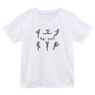 ピクトグラム バレエ Dry T-Shirt