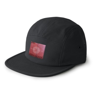 【PEACEFUL PASSAGE OF TIME】 5 Panel Cap