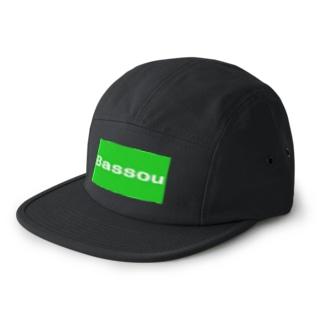 Bassou.netの公式アイテム 5 panel caps
