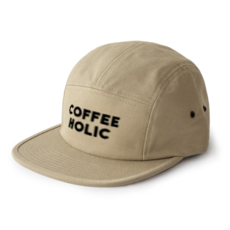 COFFEE HOLIC 5 panel caps