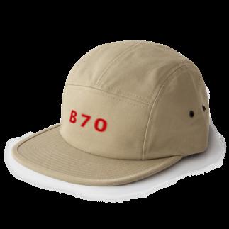 Bの称号 5 panel caps