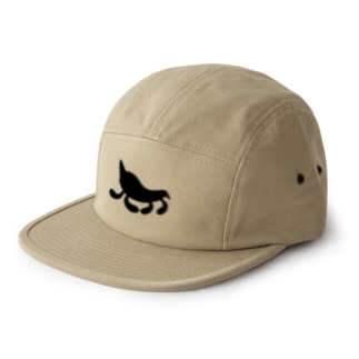 Moondrop Black 5 panel caps