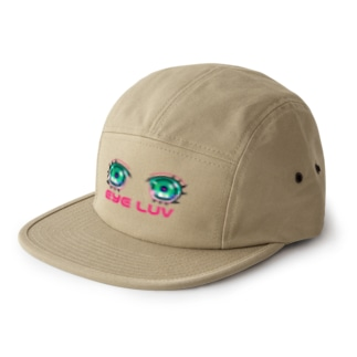 EYE LUV 5 panel caps