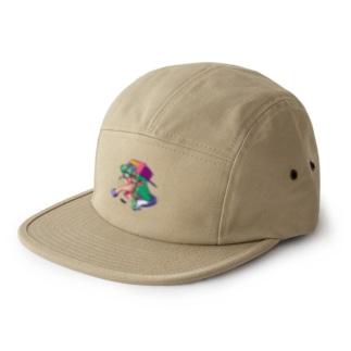 SSJ(pink) 5 panel caps