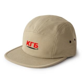 KGB×傘2 5 panel caps