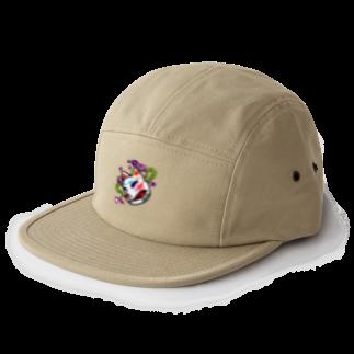 BEBE SHOPの狐のお面 CAP 5 panel caps