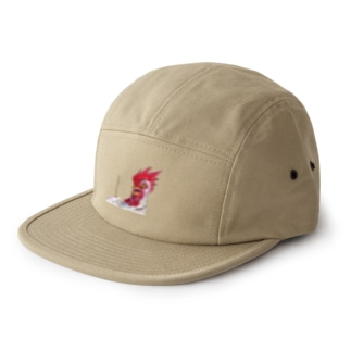 Scared Chicken 5 panel caps