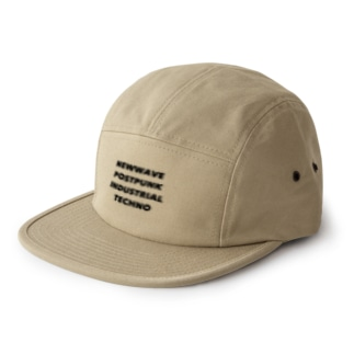 NEWWAVE POSTPUNK INDUSTRIAL TECHNO 5 panel caps