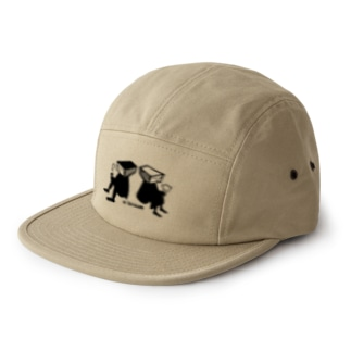 yajicongoodayのa break 5 panel caps
