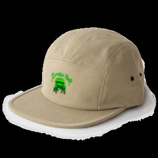 れなしやのZombie frog 5 panel caps