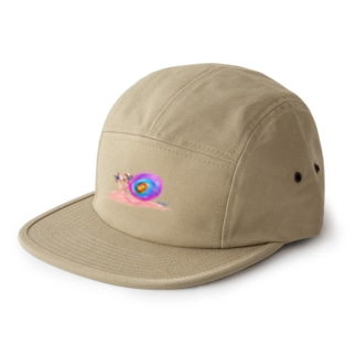 Bugs series -snail- 5 panel caps
