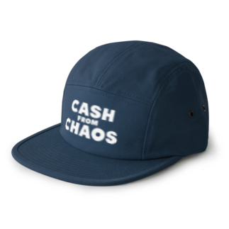 ShineのCASH FROM CHAOS 5 panel caps