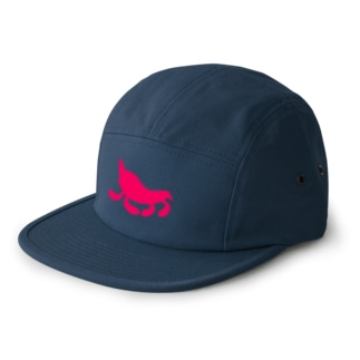 Moondrop Pink 5 panel caps