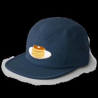 NIKORASU GOのパンケーキ<文字なし> 5 panel caps