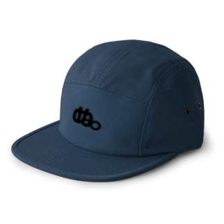 ぬ。ロゴ CAP 5 panel caps