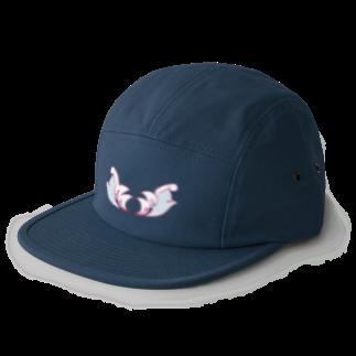 Rorschach_RRのパイロットエンジェルの帽子 5 panel caps