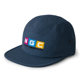 NGC『オフィシャルロゴ』(Ver.1.1) 5 panel caps