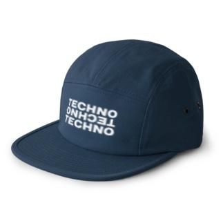Techno Headnism 5 panel caps