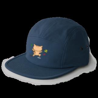 eigoyaのすきっぷする茶トラ猫 5 panel caps