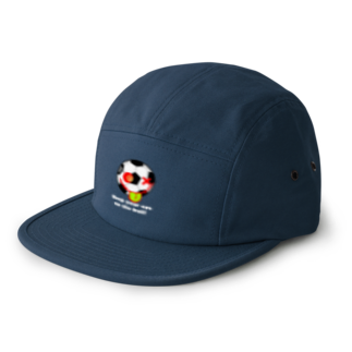 DIRTY FRIENDsのKeep your eye on the ball!① 5 panel caps