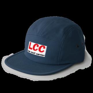 アメリカンベースのエアライン LCC  Low cost carrier 5 panel caps