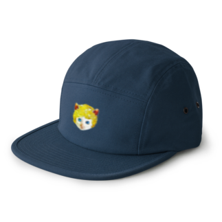 Rock catのチビCAT BOY 5 panel caps
