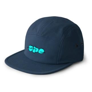SPCロゴ(blue)ジェットキャップ 5 panel caps