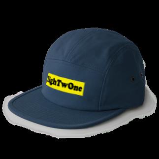 ストリートファッションはEighTwOne-821-のEighTwOne-821-BOXLOGO 5 panel caps