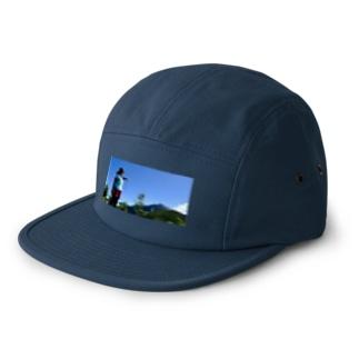 目指せ甲斐駒ヶ岳 5 panel caps