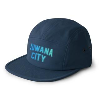 桑名市 KUWANA CITY 5 panel caps