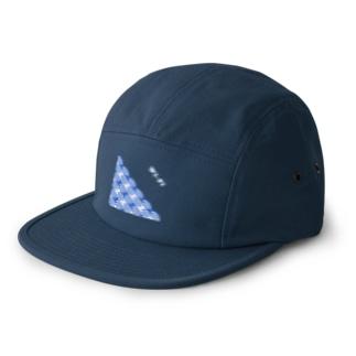 Wi-Fi青海波 ロゴ入り 5 panel caps