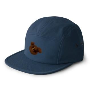 クマちゃん(熊) 5 panel caps