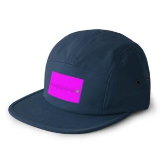 コメツブラザーズ ピンク 5 panel caps